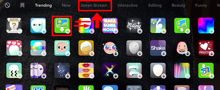 How to do Get & Use the Green Screen On TikTok 2021?